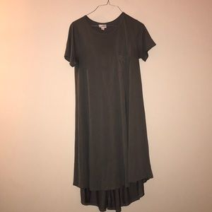 Grey Carly LuLaRoe Dress